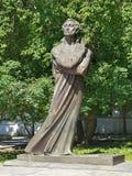 Alexander Pushkin Monument in Yekaterinburg, Rusland Royalty-vrije Stock Afbeeldingen