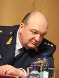 Alexander Reimer. MOSCOW, RUSSIA - FEBRUARY 9, 2012: Alexander Reimer - the General-Colonel of internal service. The Director of the Federal service of execution Stock Photo
