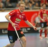 Alexander Rudd in action in Storvreta vs Mullsjö semi final stock images