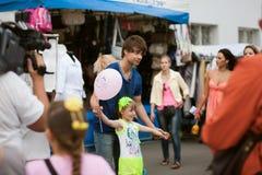 Alexander Rybak Lizenzfreies Stockfoto