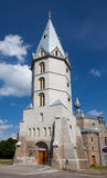 Alexander's Lutheran church in Narva, Estonia Stock Image