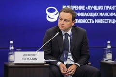 Alexander Sidyakin Stockfoto