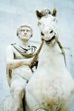 alexander stor staty Arkivbild