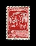 Alexander Suvorov, berühmter russischer Militärkommandant, Marschall, 150. Jahrestag der Gefangennahme der türkischen Festung Ism stockfotos