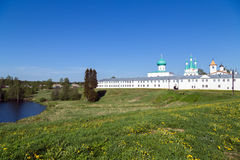 The Alexander Svirsky Monastery Stock Images