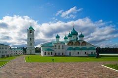 Alexander Svirsky monastery in Leningrad region of Russia Royalty Free Stock Photography