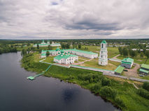 Alexander-Svirsky Monastery Royalty Free Stock Photography