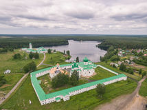 Alexander-Svirsky Monastery Stock Photo