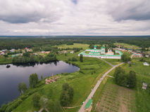 Alexander-Svirsky Monastery Stock Photography