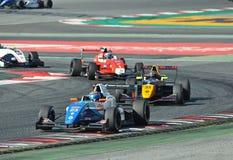 Eurocup Formula Renault 2.0 2017 Barcelona circuit Stock Images