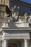 Alexander VII monument Royalty Free Stock Photography
