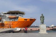 Alexander Von Humboldt i Veracruz Arkivfoto