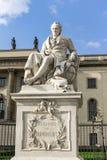 Alexander von Humboldt Statue Stock Photos