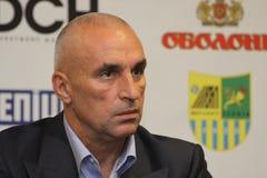 Alexander Yaroslavsky at press conference Stock Image