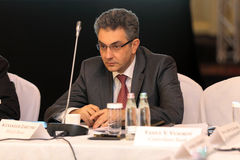 Alexander Zaretski, President of the company MetLi Royalty Free Stock Images