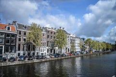 Alexanderkade阿姆斯特丹荷兰 库存照片