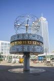 Alexanderplatz时钟 免版税库存图片