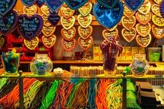 alexanderplatz的甜商店 免版税库存照片