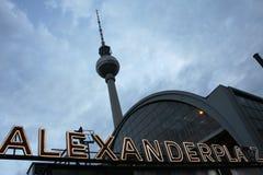 Alexanderplatz imagens de stock royalty free