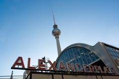 Alexanderplatz Fotografia Stock Libera da Diritti