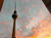Alexanderplatz Imagen de archivo libre de regalías