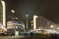 alexanderplatz berlin royaltyfria foton