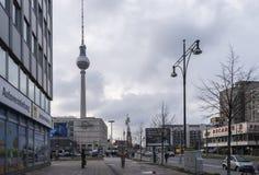 Alexanderplatz Berlin image stock