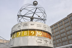 alexanderplatz berlin Fotografering för Bildbyråer