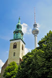 Alexanderplatz in Berlin Royalty Free Stock Photography