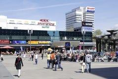 alexanderplatz berlin Royaltyfria Bilder