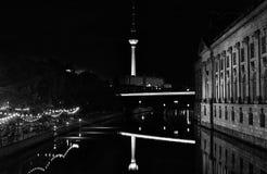 Alexanderplatz in Berlin by night