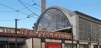 Alexanderplatz in Berlin Royalty Free Stock Photos