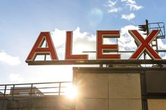 Alexanderplatz Berlino Germania fotografia stock libera da diritti