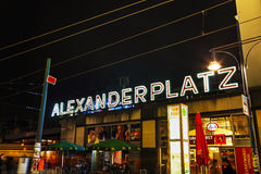 Alexanderplatz square in Berlin, Germany Stock Photos