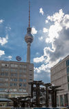 Alexanderplatz TV Tower Royalty Free Stock Photo