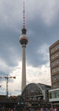 Alexanderplatz TV Tower Royalty Free Stock Image