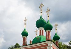 Alexandr Nevsky church Royalty Free Stock Photos