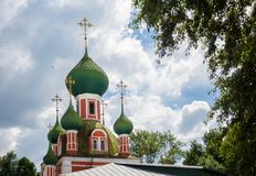 Alexandr Nevsky church Royalty Free Stock Image