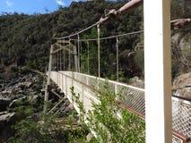 Alexandra-Aufhebungbrücke, Launceston, Tasmanien lizenzfreies stockbild