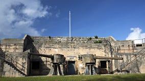 Alexandra Battery - St George, Bermudes Image stock