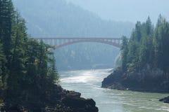 Alexandra Bridge Fraser River photos stock
