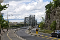 Alexandra Bridge Ottawa Stock Images