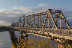 Alexandra Bridge in Ottawa Royalty Free Stock Image