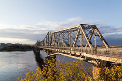 Alexandra Bridge in Ottawa Royalty Free Stock Photos
