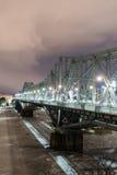 Alexandra Bridge - Ottawa, Kanada lizenzfreies stockfoto