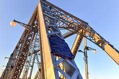 Alexandra Bridge - Ottawa, Kanada stockfotografie
