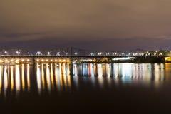 Alexandra Bridge in Ottawa Royalty Free Stock Photography