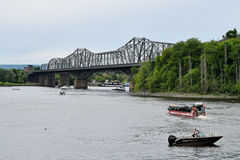 Alexandra Bridge, Ottawa, Ontario, Canada Stock Images