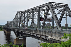 Alexandra Bridge, Ottawa, Ontario, Kanada stockfotos