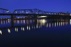 Alexandra Bridge in Ottawa von Kanada Lizenzfreies Stockfoto